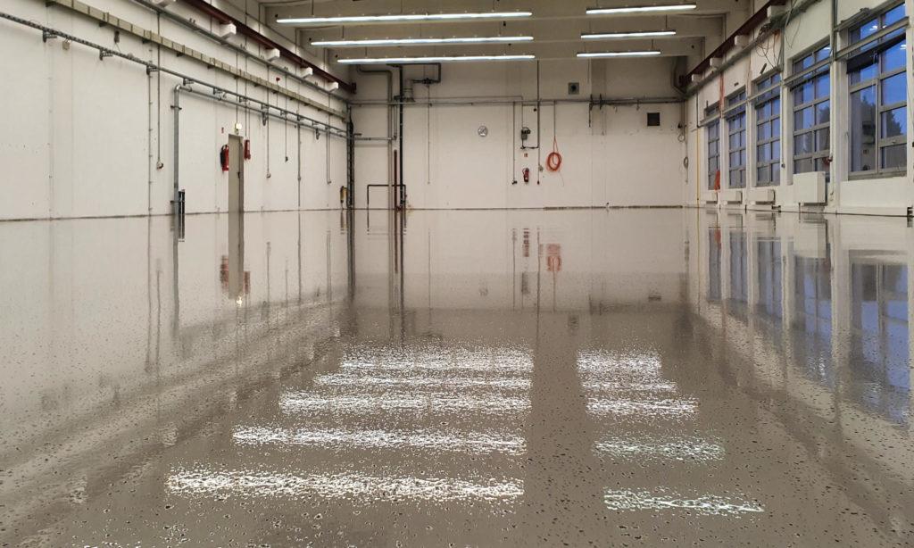 Ein hochwertiger und belastbarer Epoxidharz-Fußboden
