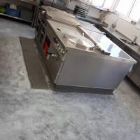 Epoxidharz-Fußboden für Küchen
