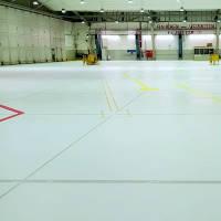 Epoxidharz-Fußboden für Lagerhallen